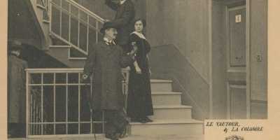 La colomba e l'avvoltoio Film d'Arte Italiana 1912