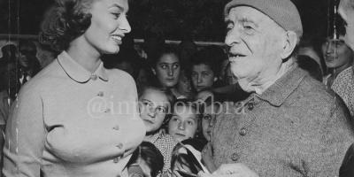 Sophia Loren e Giuseppe Filippi